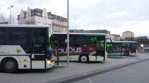 Intermodalité - gare d'Angers - Soruce : X. METAY - FNE Pays de la Loire