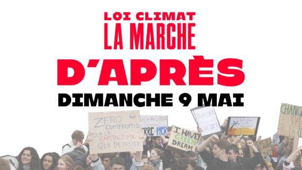 Marchons ensemble le dimanche 9 mai pour dénoncer le manque d'ambition du projet de loi Climat et Résilience face à l'urgence climatique. Le projet de loi Climat et Résilience a […]