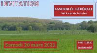 France Nature Environnement Pays de la Loire organise son assemblée générale ordinaire le samedi 20 mars 2021 de 9h30 à 12h30. Au vu du contexte sanitaire et des incertitudes qui […]