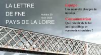 FNE Pays de la Loire vient de publier le numéro 28 de sa lettre d'information trimestrielle. Au menu, un dossier sur le sujet «Mieux gérer l'eau face au changement climatique» […]